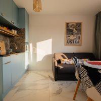 Apartament-mint-debina-kolo ustki-kuchnia-salon