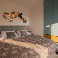 Apartament-mint-debina-kolo ustki-sypialnia-lozko